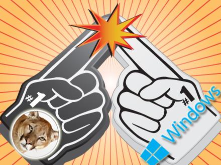 Mountain Lion vs. Windows 8: Ease of Use